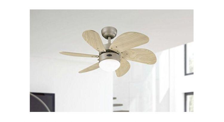 I migliori ventilatori a soffitto con luce e telecomando piccoli