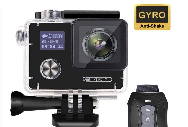 Le Migliori Action Camera con stabilizzatore